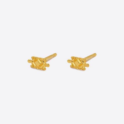 Nagle and Sisters Lyra Stud in Gold