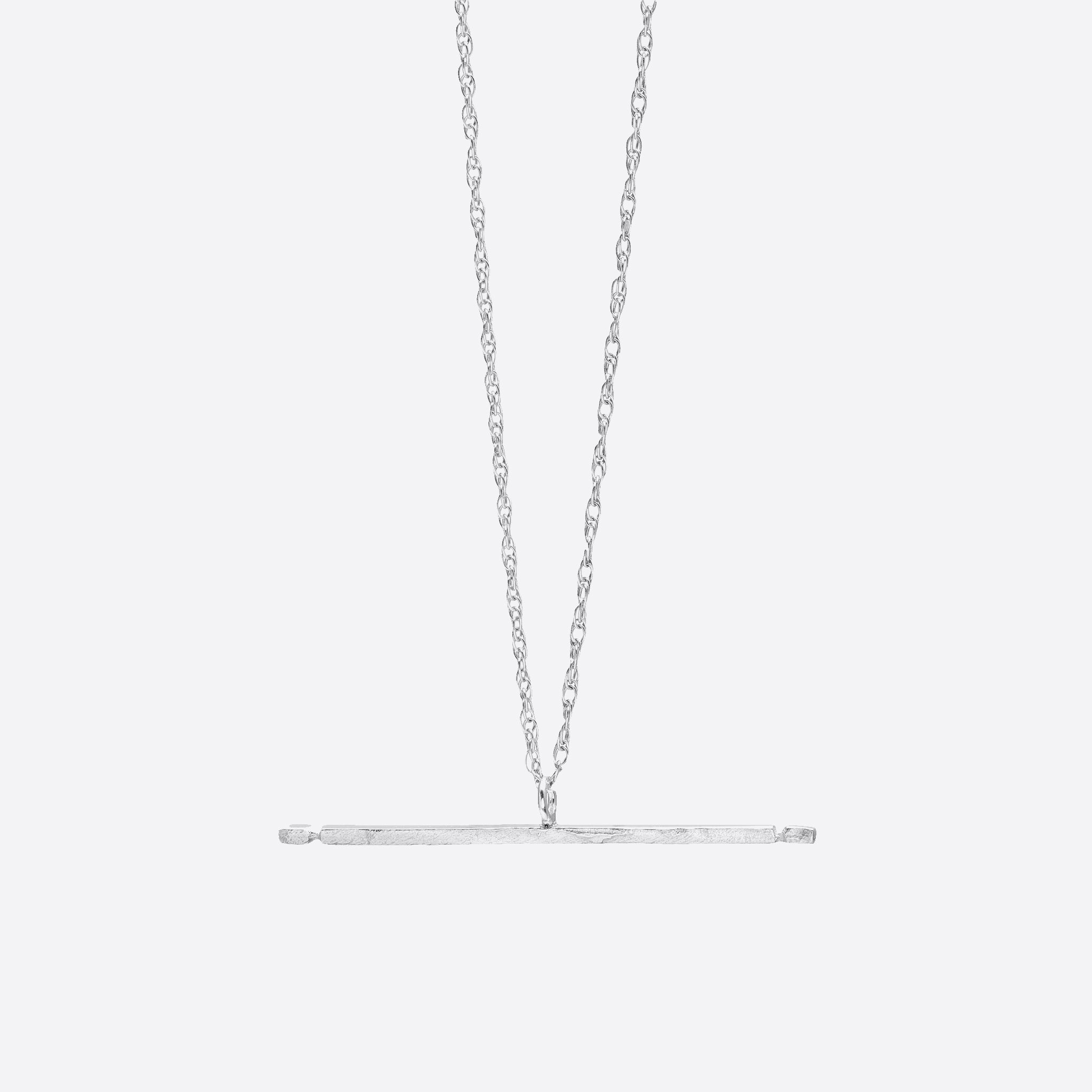 Nagle and Sisters Allumette Necklace in Silver