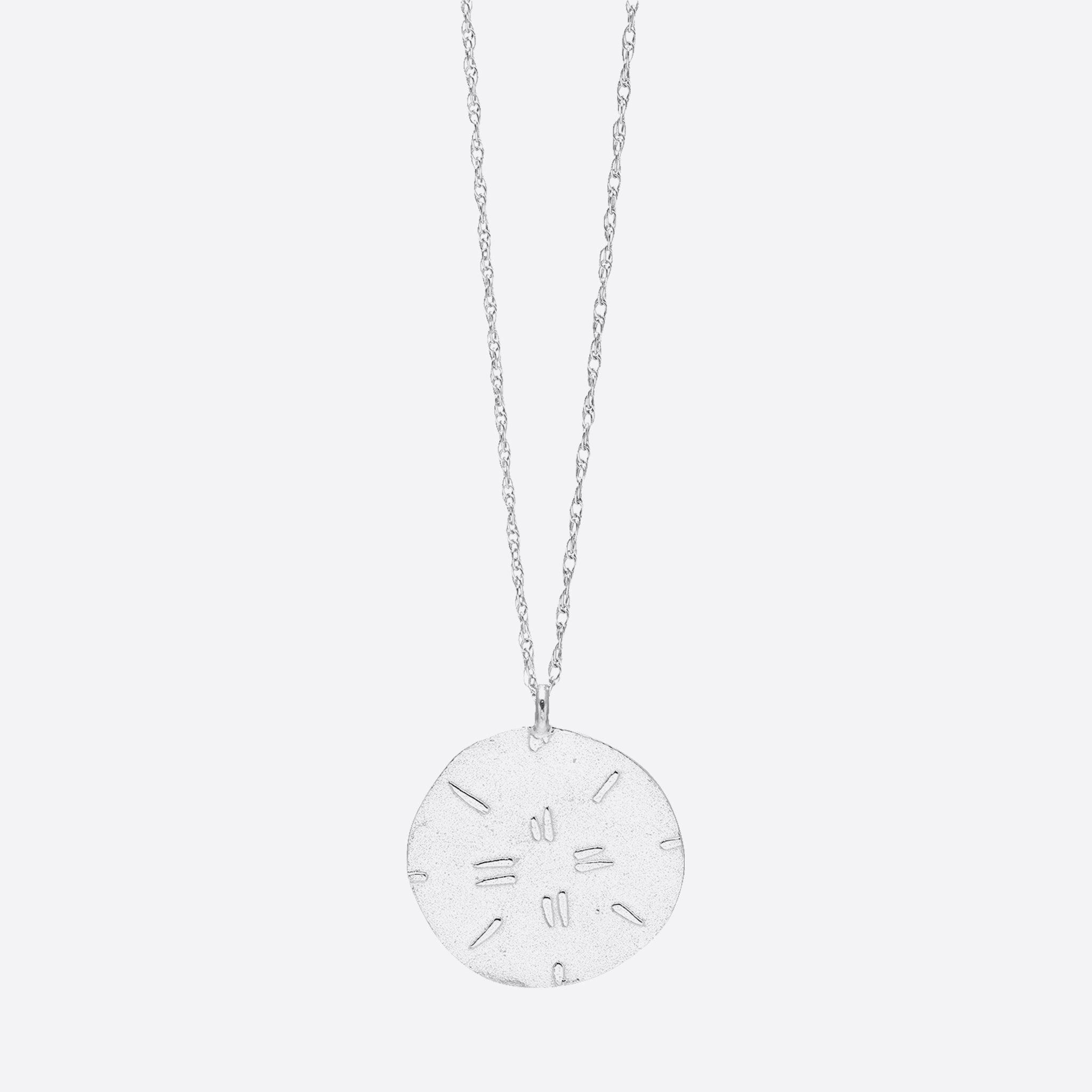 Nagle and Sisters Sol Necklace in Silver