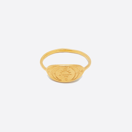 Nagle and Sisters Astrid Ring in Gold
