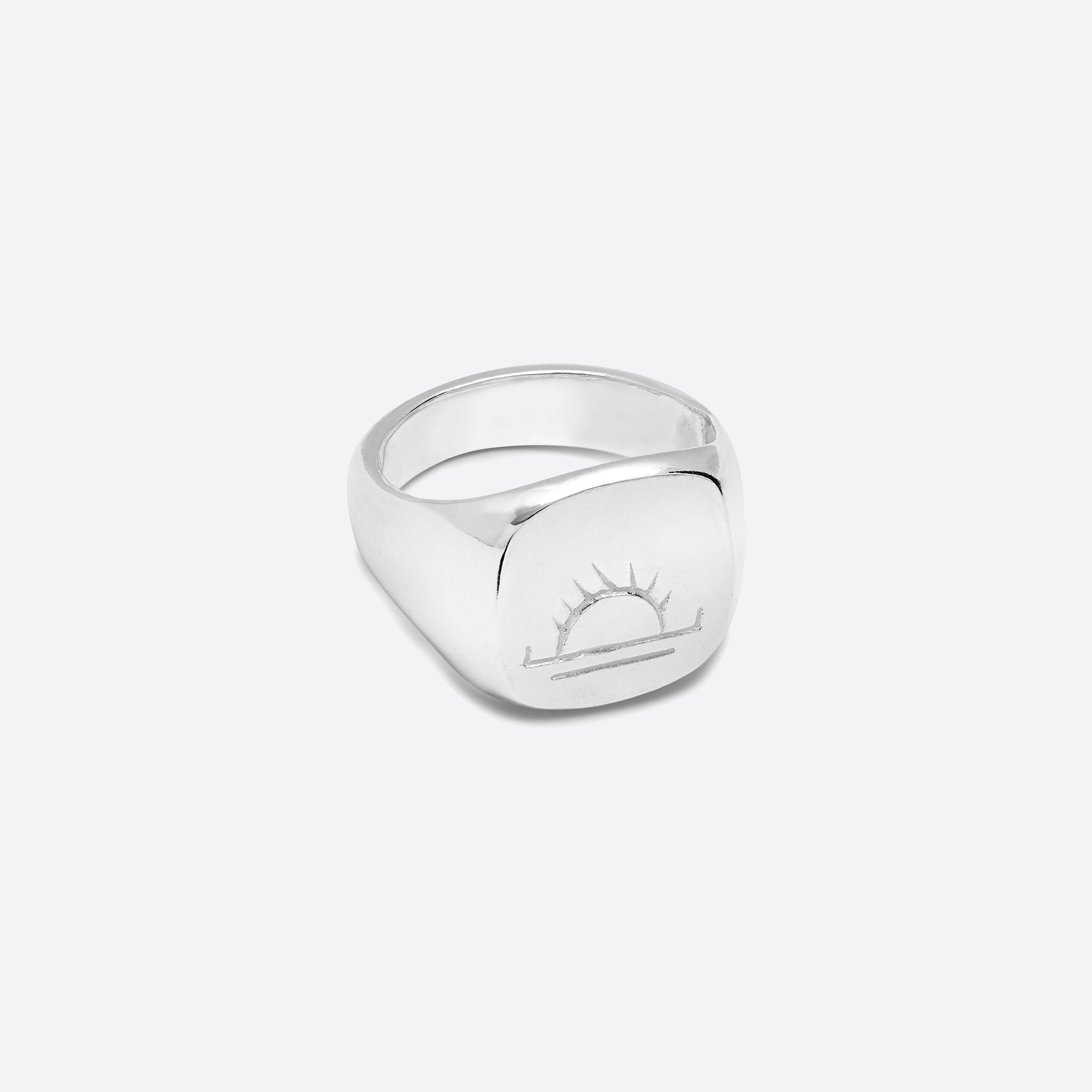 Nagle and Sisters Dawn Ring in Silver