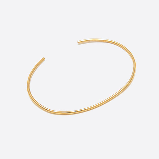 Nagle and Sisters Round Fil Cuff Bracelet in Brass