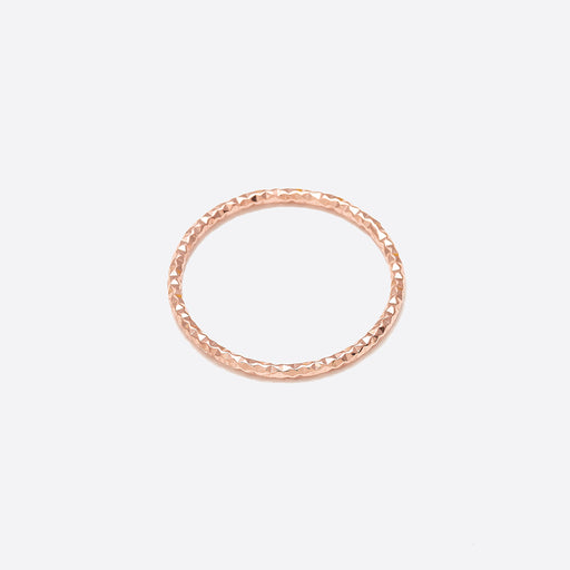 Nagle and Sisters Sparkle Ring in Rose Gold