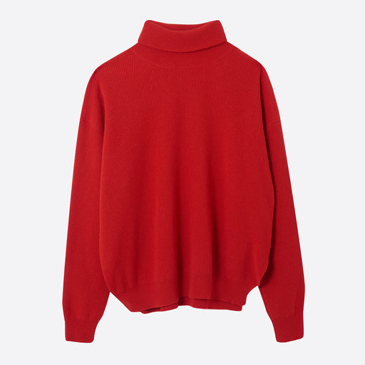Nanushka Monday Turtleneck Sweater in Red