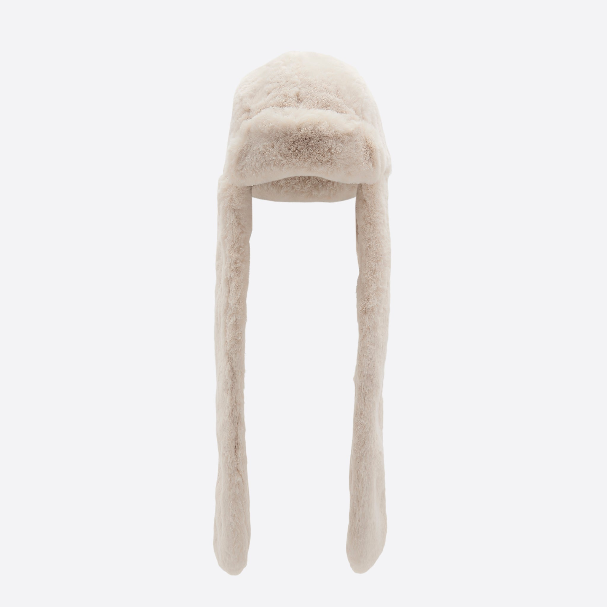 Neul Shapka Faux Fur Hat in Ivory