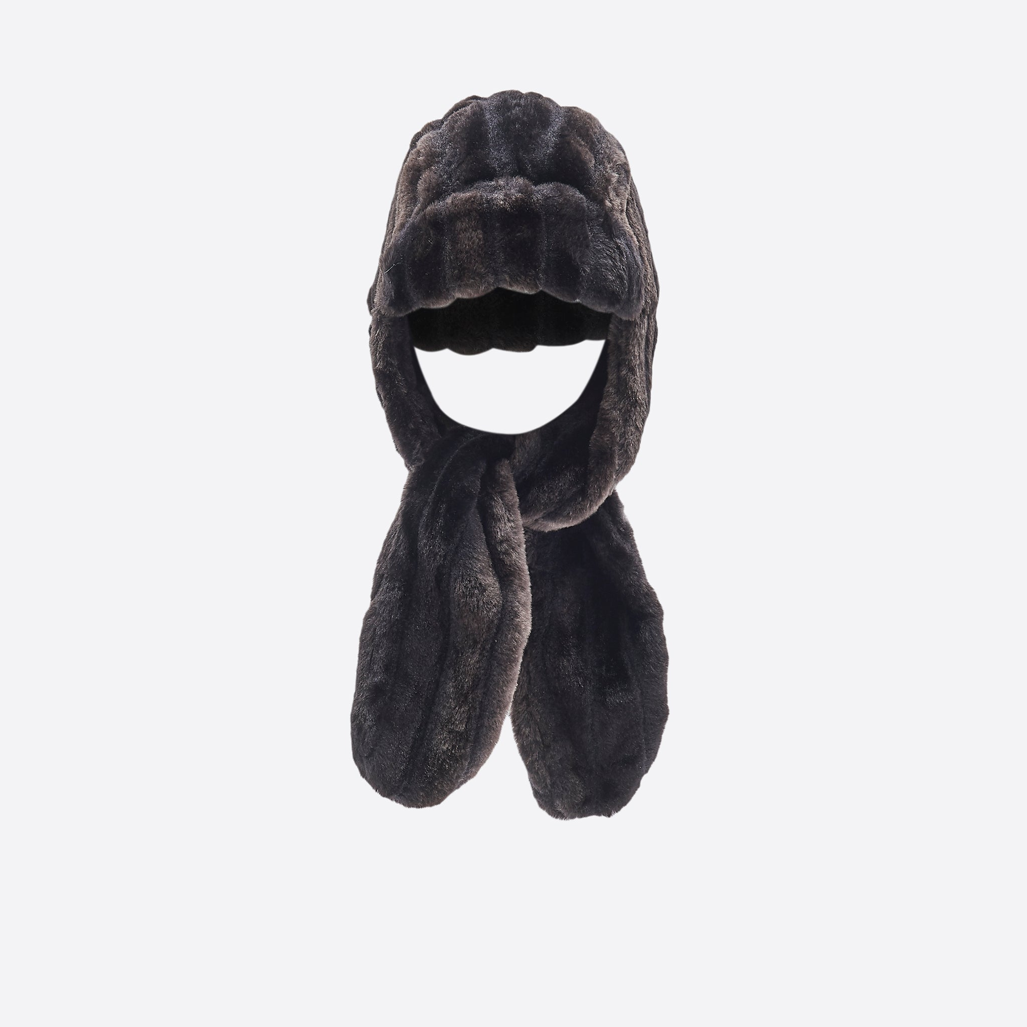 Neul Shapka Faux Fur Hat in Black