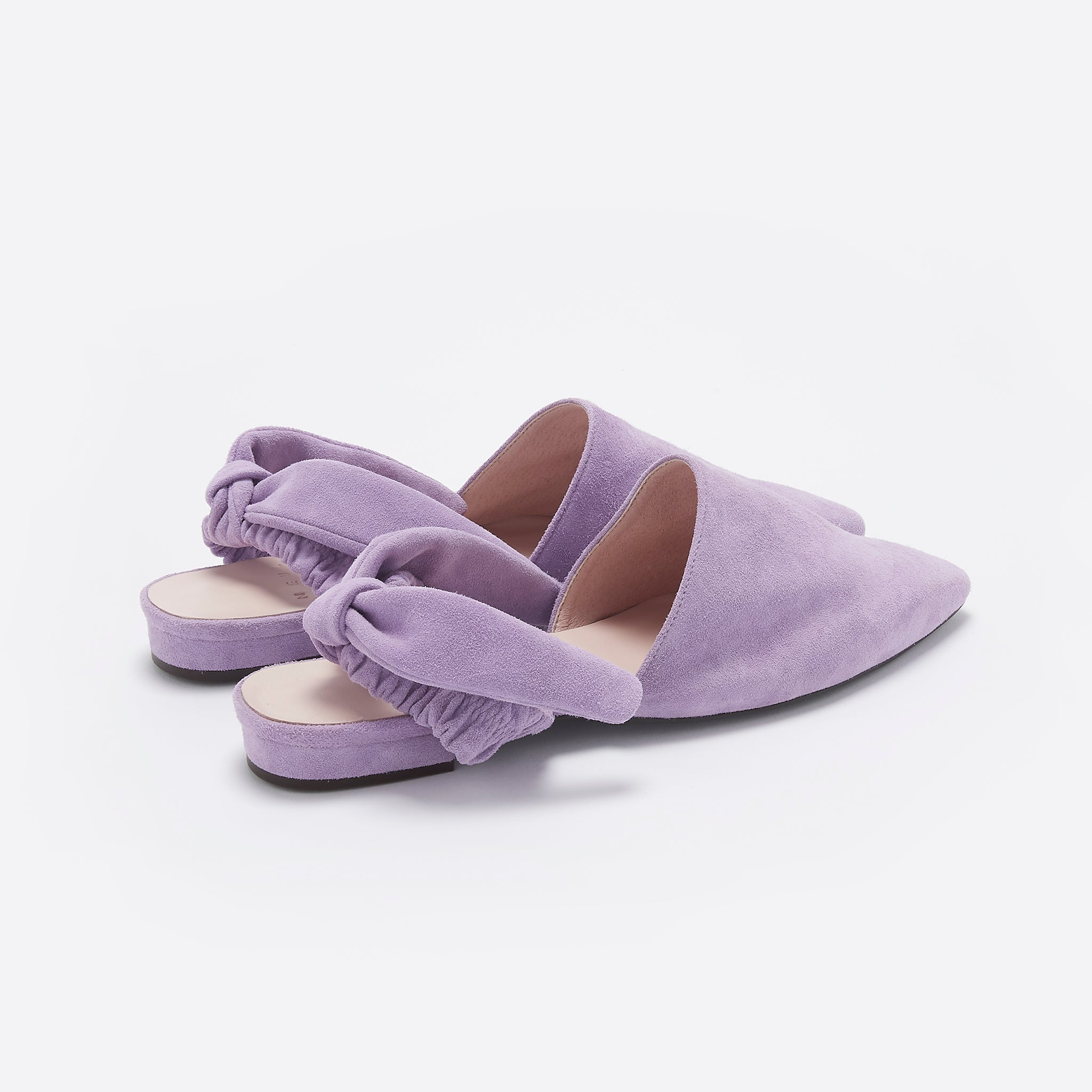 Neul Vintage Ribbon Loafer in Coconut Shell and Lavender Frost
