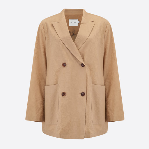 Neul Seer Double Jacket in Sand