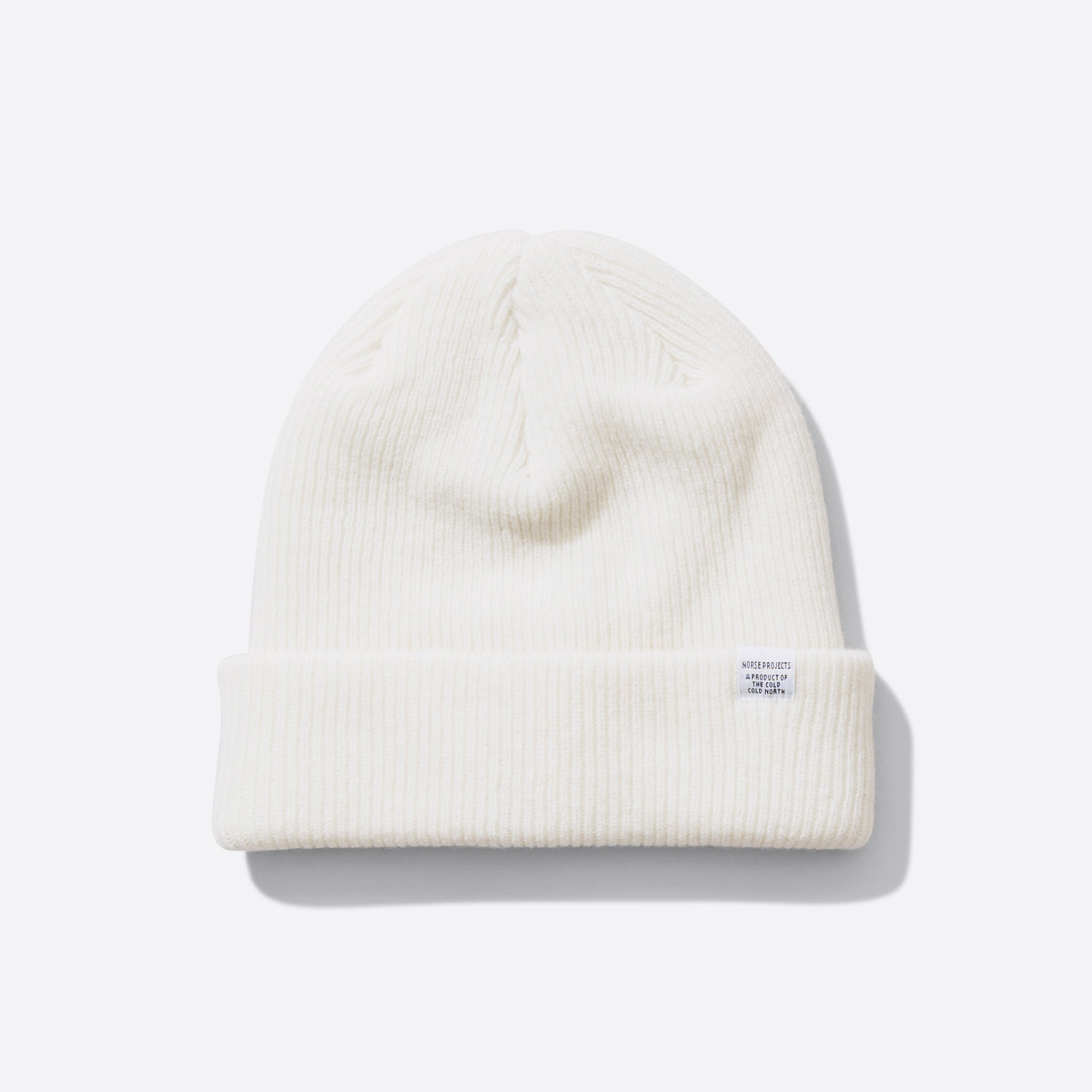 Norse Projects Norse Beanie in White