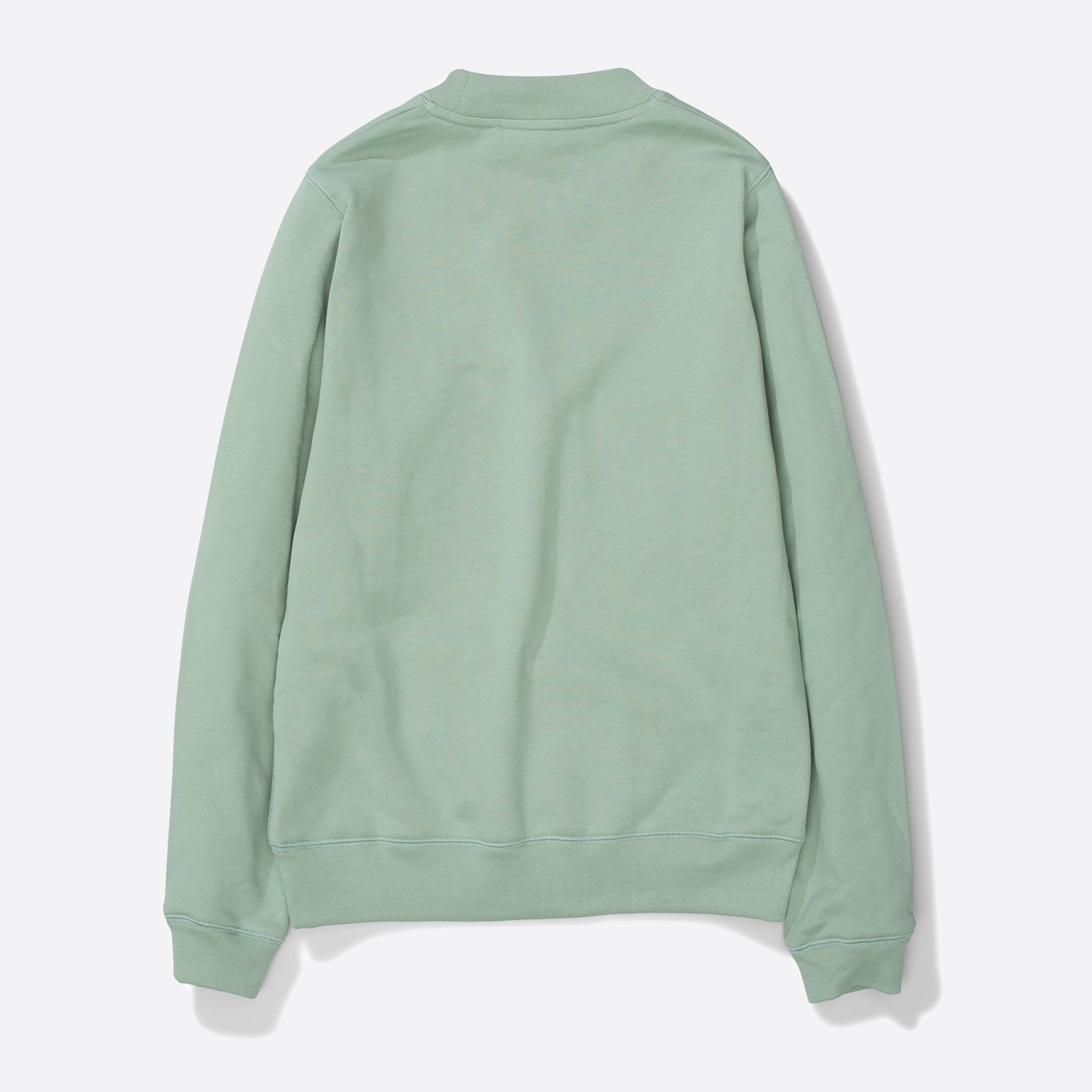 Norse Projects Erna Cotton Sweater in Pale Jade