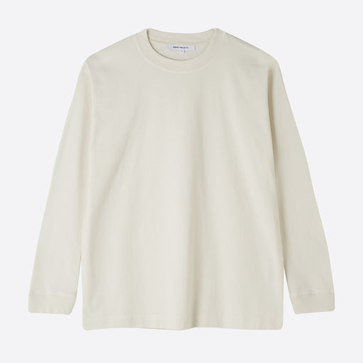 Norse Projects Aina Long Sleeve Tee in Kit White