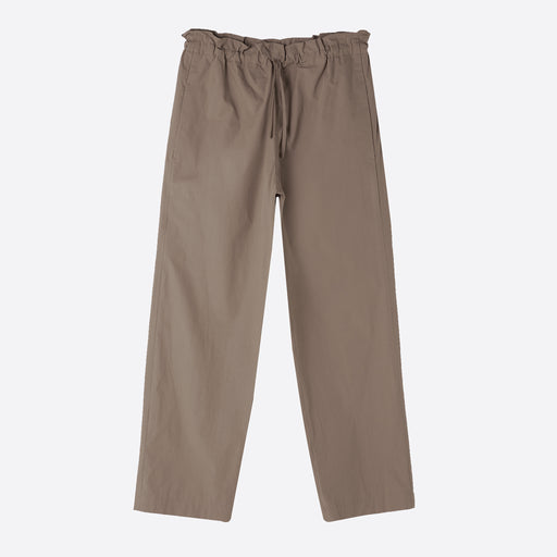 Norse Projects Ally Poplin Trouser in Utility Khaki