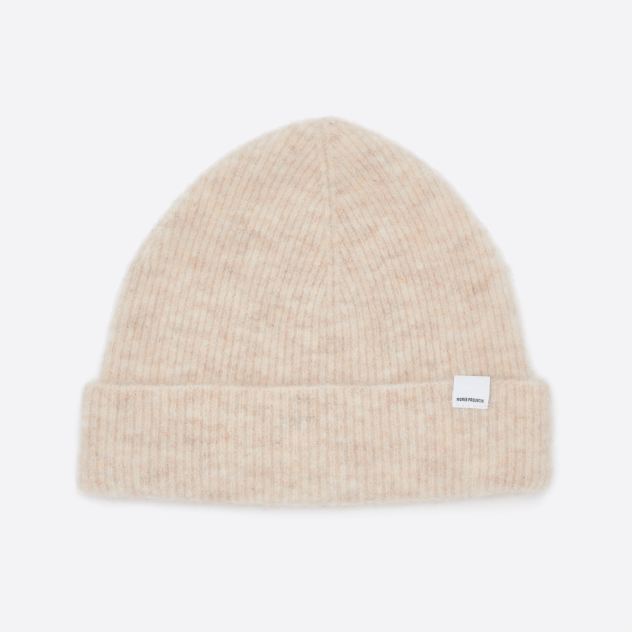 Norse Projects Marta Beanie in Ecru