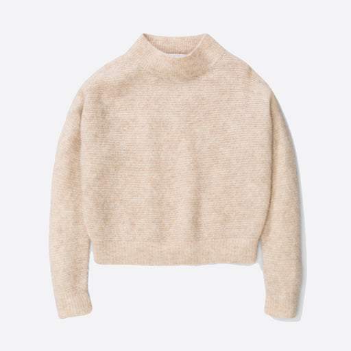 Norse Projects Agneta Alpaca Knit in Ecru