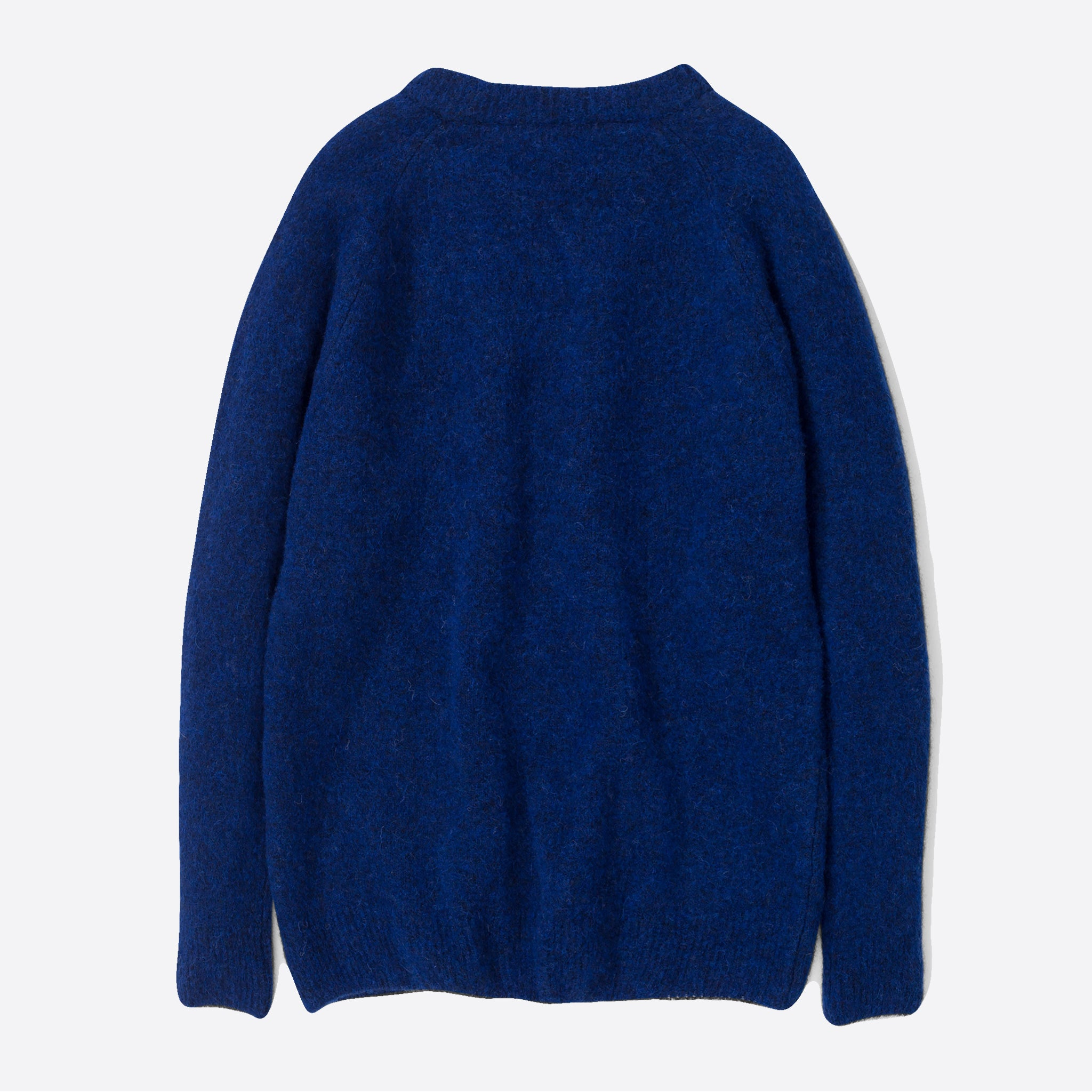 Norse Projects Ajo Brush Jumper in Ultra Marine