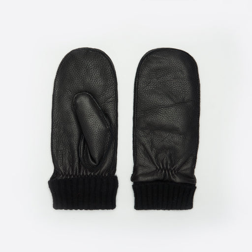 Norse Projects x Hestra Elba Mittens in Black