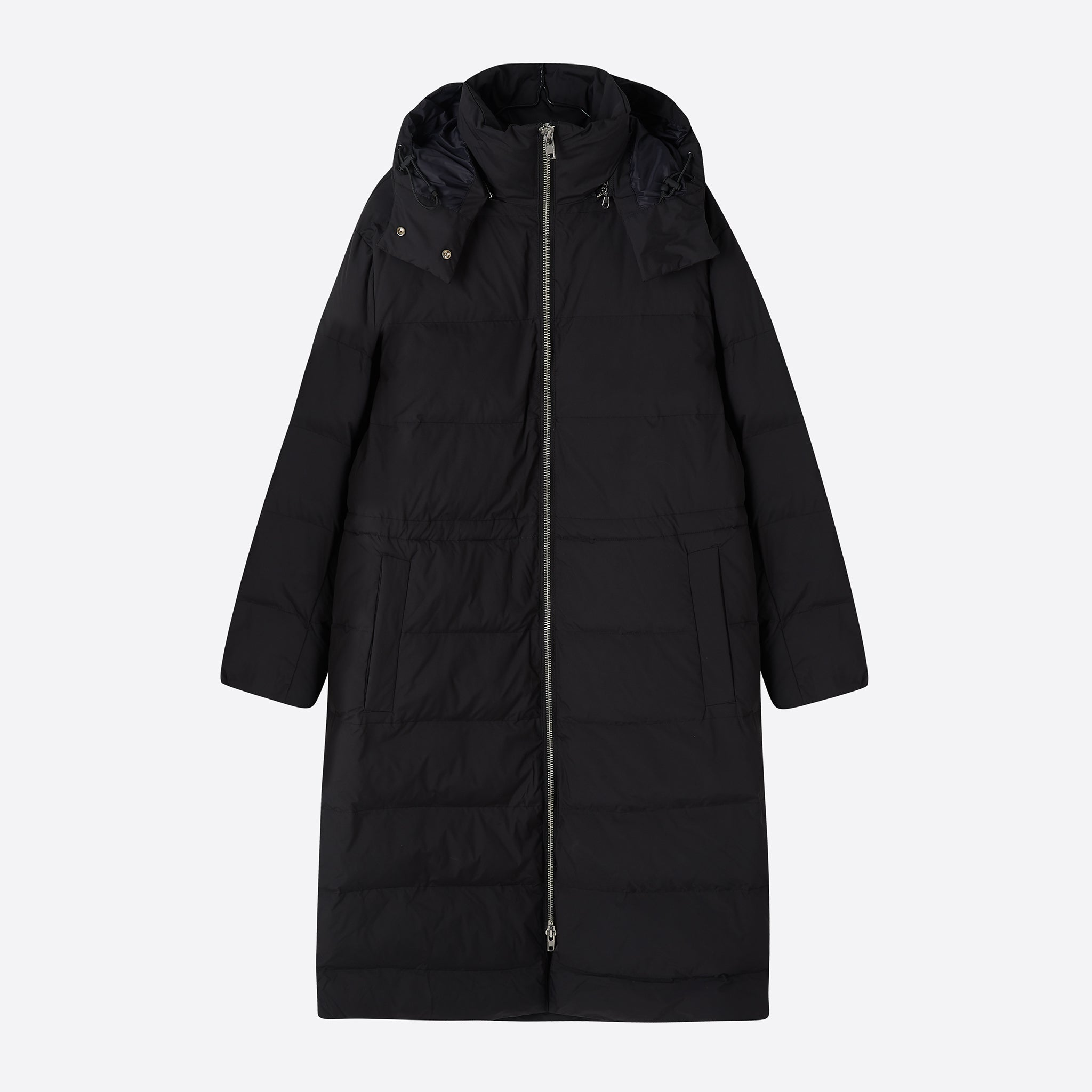Norse Projects Line Light WR Coat in Black