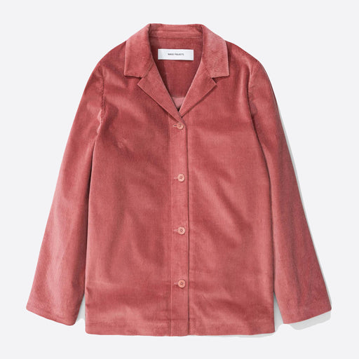 Norse Projects Lana Corduroy Jacket in Rose Quartz