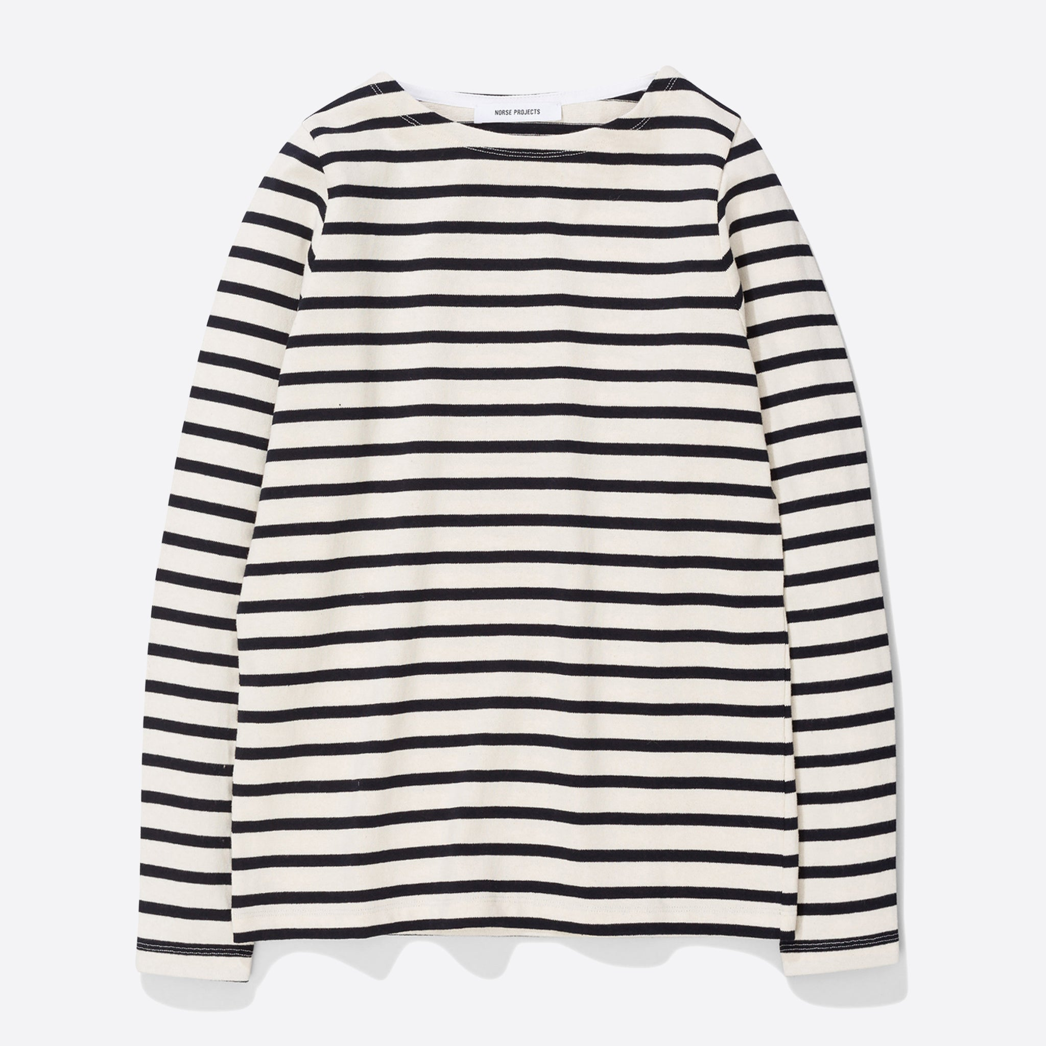 677c20267d Norse Projects Inge Classic Stripe in Ecru — Our Daily Edit
