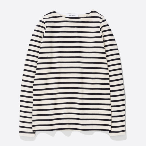 Norse Projects Inge Classic Stripe in Ecru
