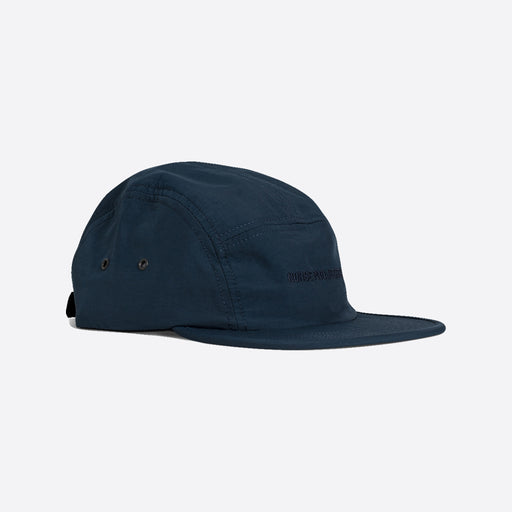 Norse Projects Nylon 5 Panel Cap in Dark Navy