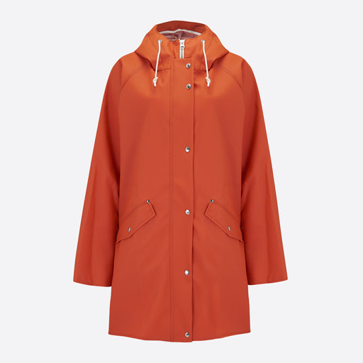 Norse Projects Alena Rain Jacket in Rust