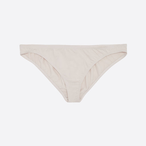 The Nude Label Hipster Brief in Pearl