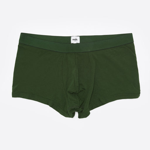 The Nude Label Trunk in Forest Green
