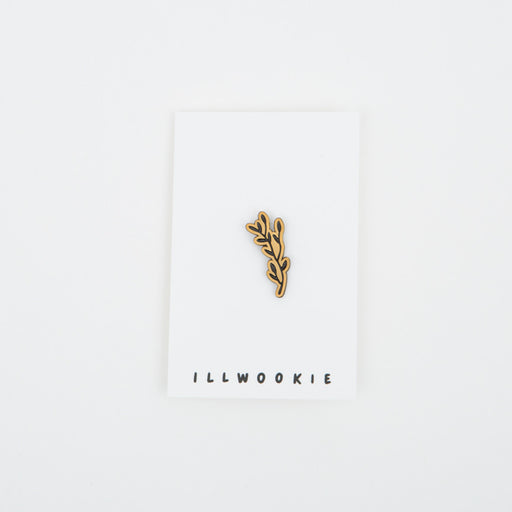 ILLWOOKIE Enamel Pin in Laurel