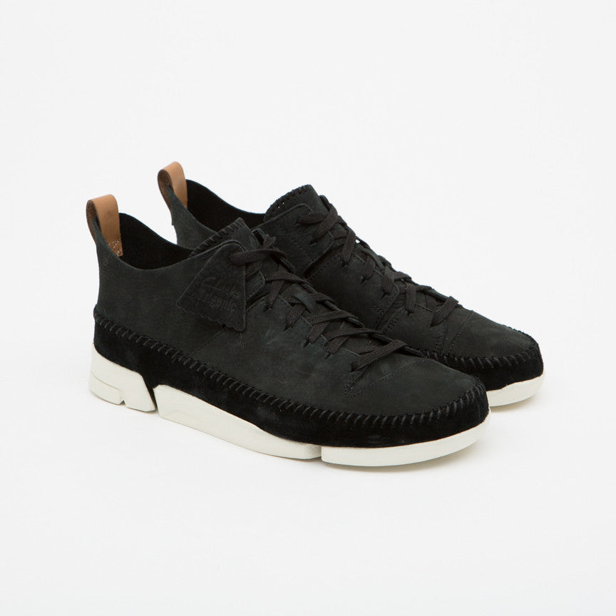Clarks Originals Trigenic Flex in Black Nubuck