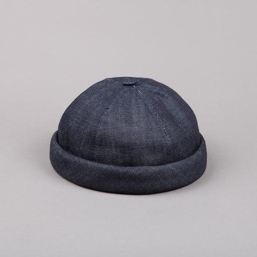 Béton Ciré Miki Hat in Denim Brut