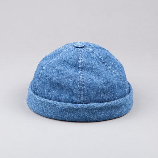 Béton Ciré Washed Blue Denim Miki Hat