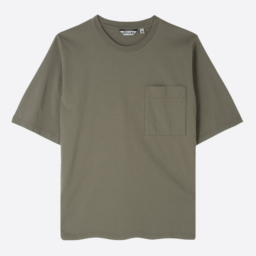 OUTLAND Big T T-Shirt in Khaki