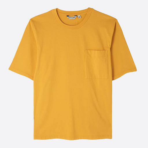 OUTLAND Big T T-Shirt in Yellow