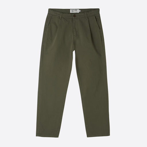 OUTLAND Pleat Pants in Khaki