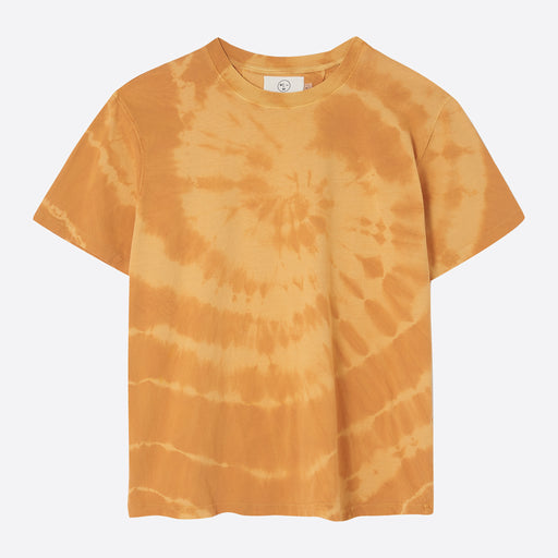 Older Brother Tee in Tie Dye Saffron