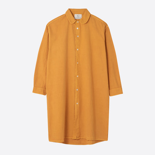 Older Brother Long Shirt in Saffron