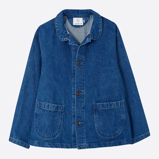 Older Brother Chore Coat in Indigo Denim