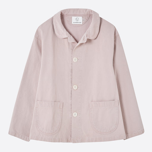 Older Brother Chore Coat in Pink Hibiscus