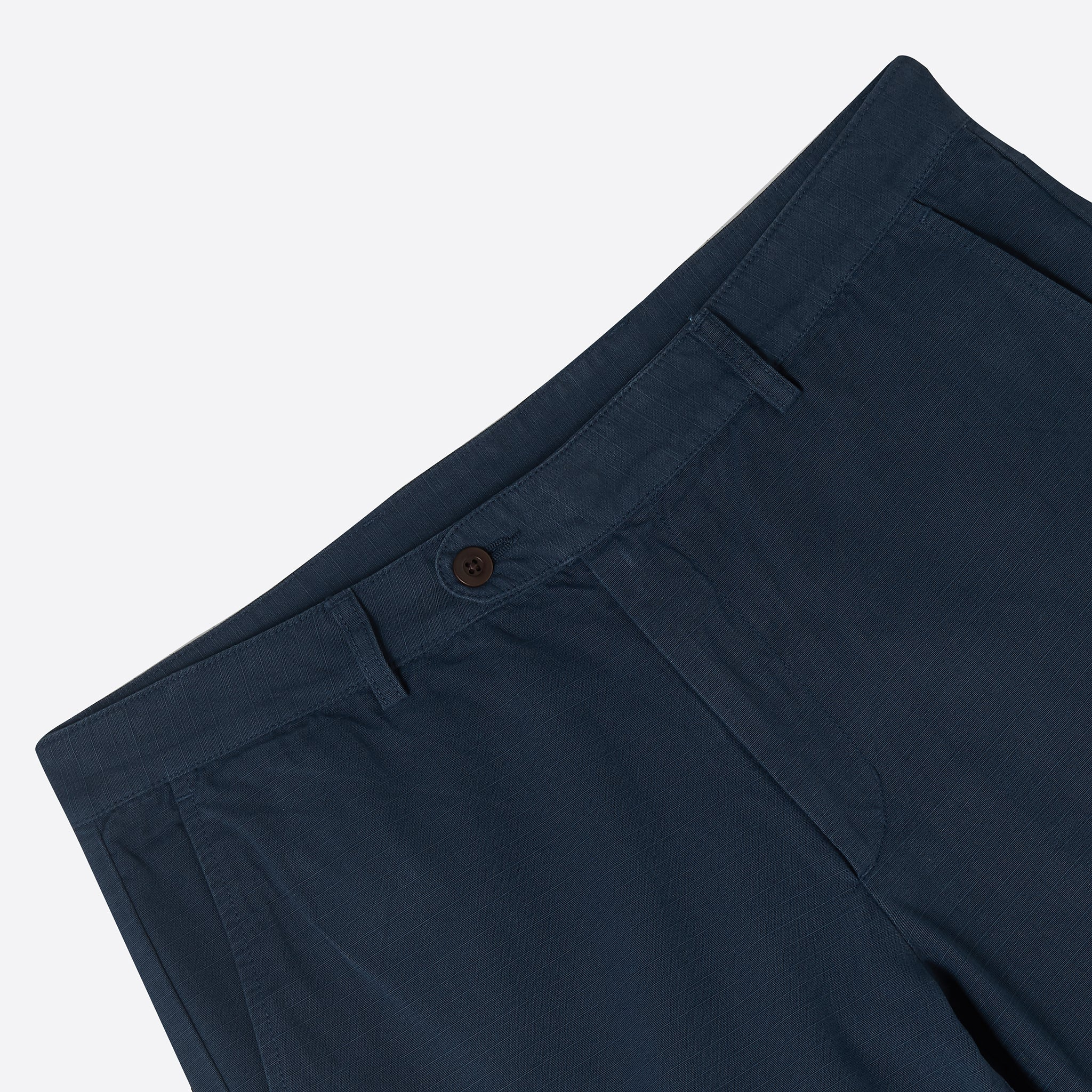 Portuguese Flannel Labura Trousers in Navy Ripstop