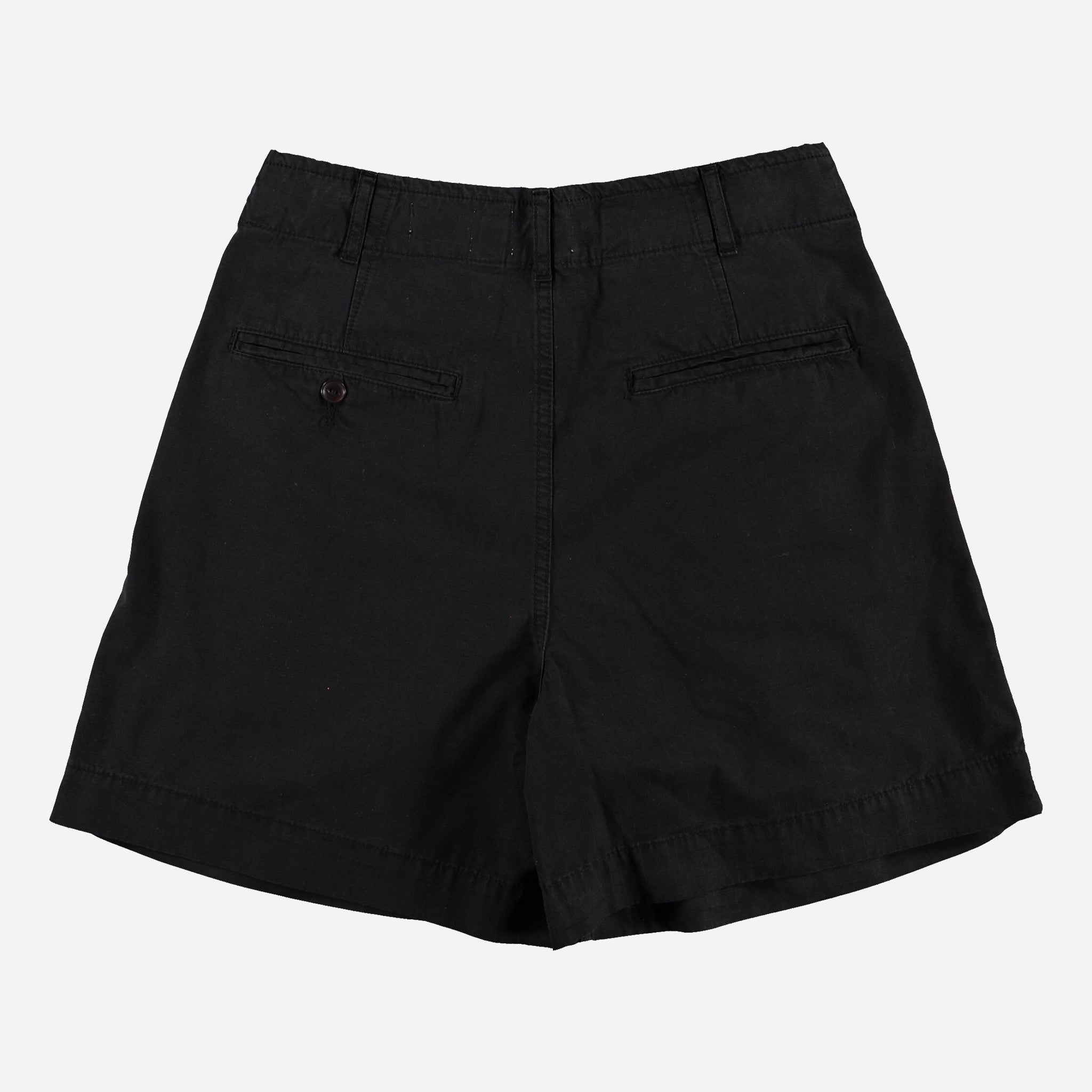 Girls of Dust River Shorts in Black Ripstop