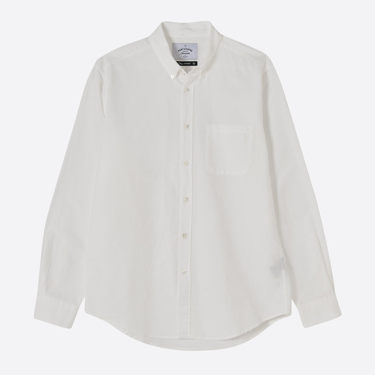 Portuguese Flannel Belavista Shirt in Off White