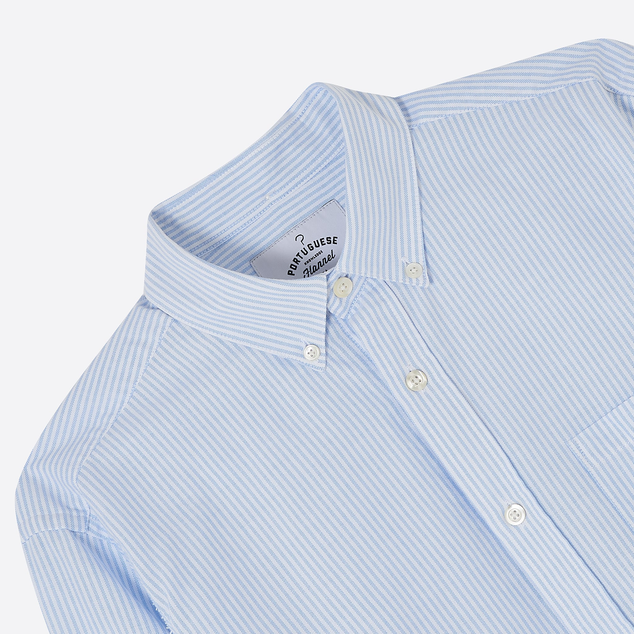 Portuguese Flannel Belavista Shirt in Stripe