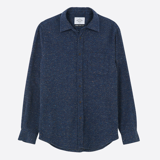 Portuguese Flannel Rude Shirt in Blue