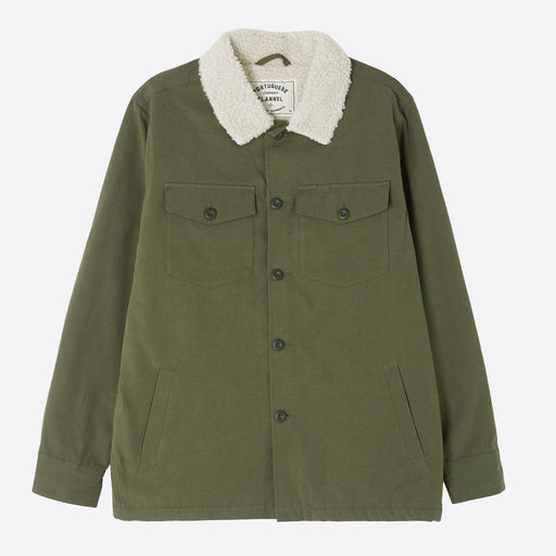 Portuguese Flannel Sherpa Army Jacket