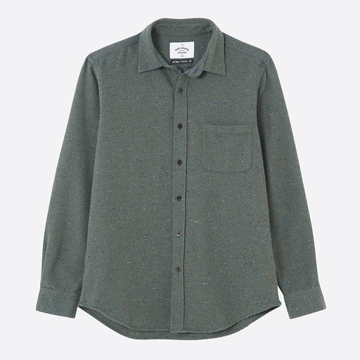Portuguese Flannel Rude Shirt in Green