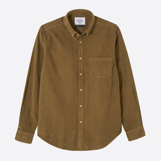 Portuguese Flannel Lobo Shirt in Moss