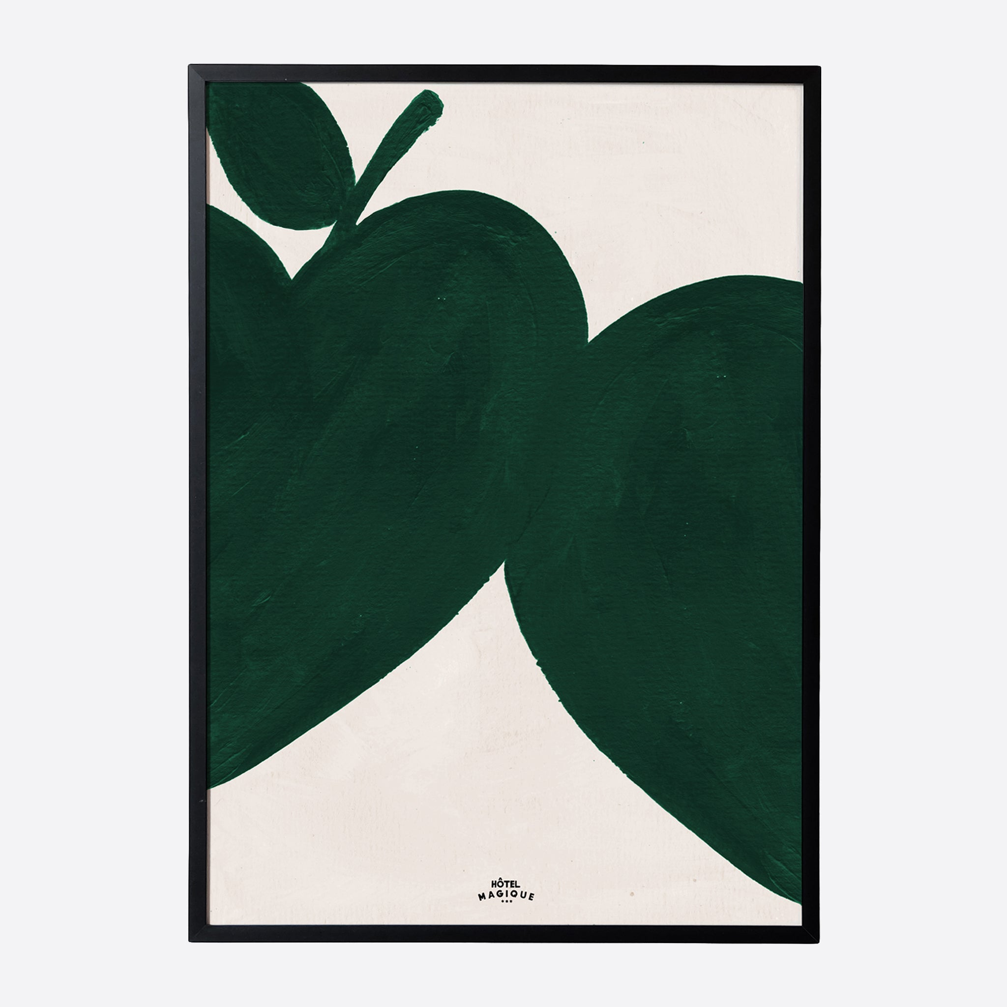 Hotel Magique 'I Like My Apples Green' A3 Print