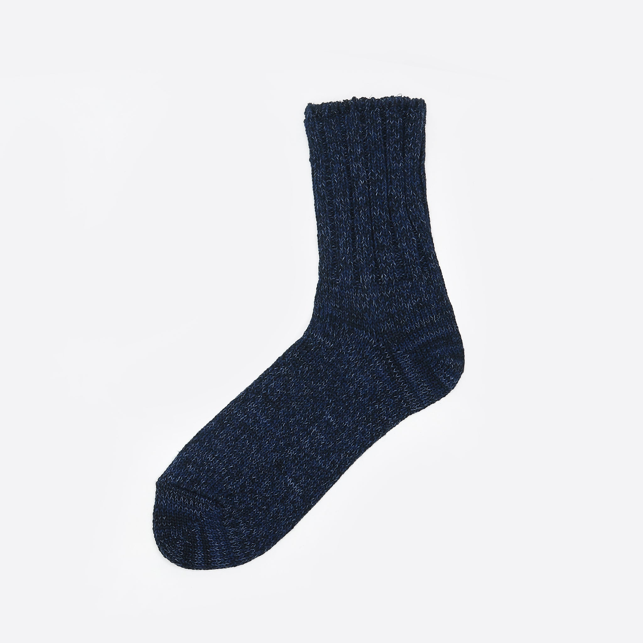 Rototo Denim Tone Socks in Dark Denim
