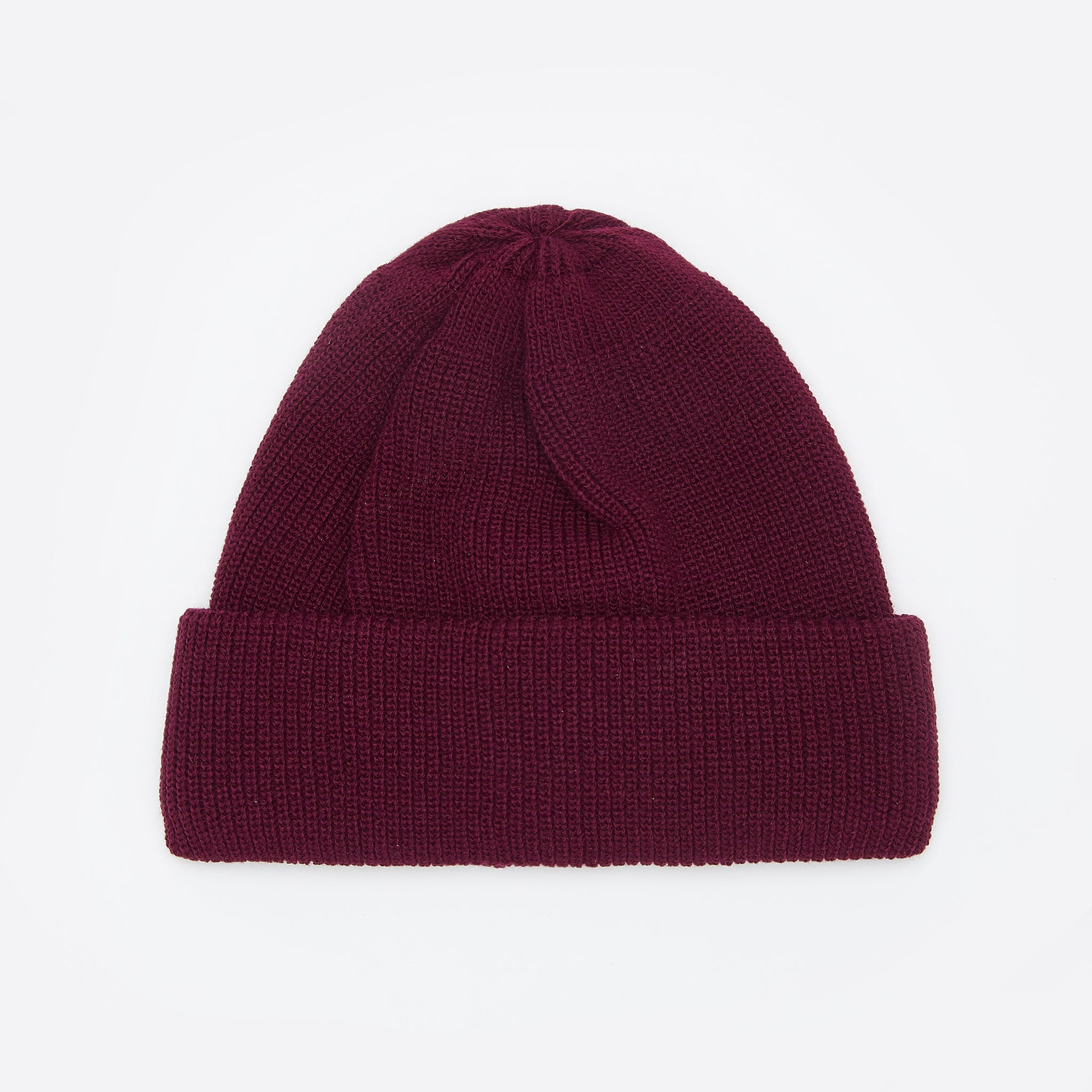 RoToTo Bulky Watch Cap in Burgundy